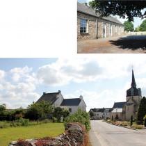 Arzal - Le centre bourg, l'ancienne école
